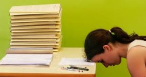 Falling asleep are your desk