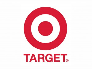 The logo of Target