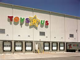 Toys R Us warehouse